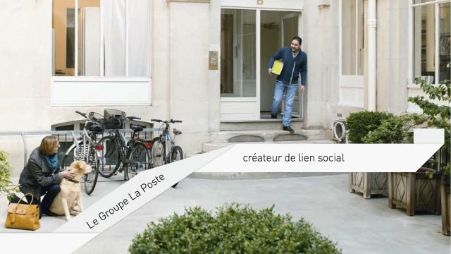 Board créatif et Rapport d'activité La Poste 2010/2013